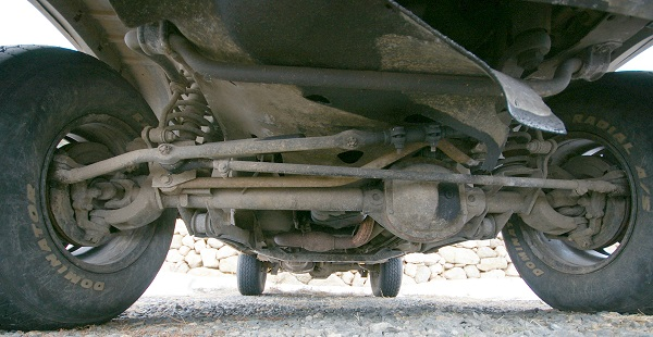 Jeep front suspension